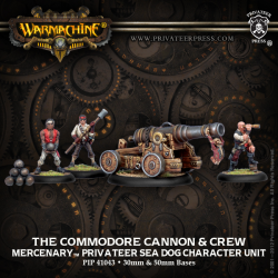 The Commodore Cannon & Crew