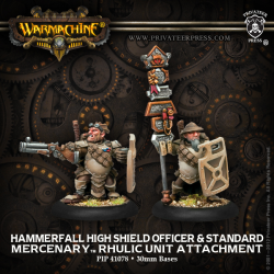 Hammerfall High Shield Gun Corps Officer & Standard Bearer