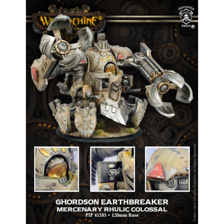 PIP 41103: Ghordson Earthbreaker—Colosse Mercenaire Rhulique