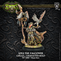 Una the Falconer