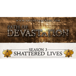 Path of Devastation: Shattered Lives (S3), Kit de ligue