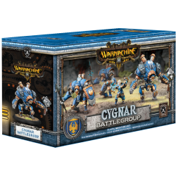 Cygnar, boite de battlegroup