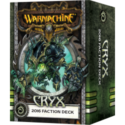 Cryx, 2016 Faction Deck