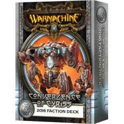 Convergence of Cyriss, 2016 Faction Deck