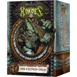 Trollbloods, Deck de faction bilingue FR-EN 2016