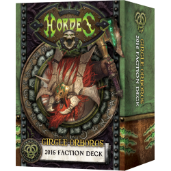 Cercle Orboros, Deck de faction bilingue FR-EN 2016