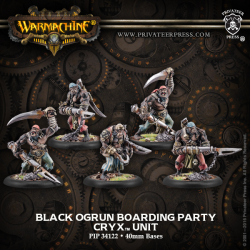 Black Ogrun Boarding Party