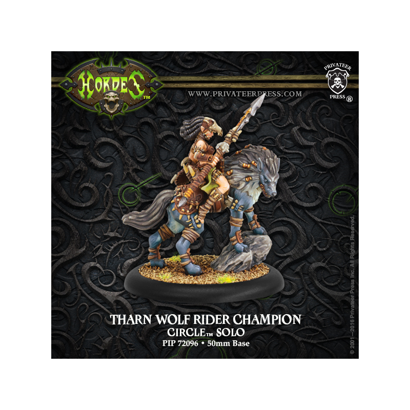 PIP 72096: Tharn Wolf Rider Champion —Solo Cercle Orboros