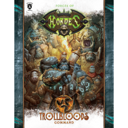 Trollbloods, Command Book en anglais (Hard cover)