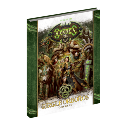 Circle Orboros, Command Book en anglais (Hard cover)
