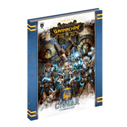 Cygnar Command Book en anglais (Hard cover)