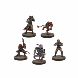 Rebelles, extension de troupes (5 figurines)