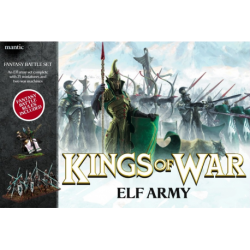 Elves army box (71 figurines,, en anglais) †