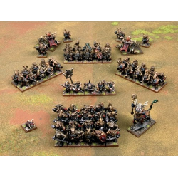 Gorgoth's Legion of Terror Mega Army (56 figurines)
