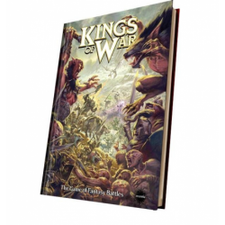 Rulebook Kings of War 2nd edition (en anglais, version complète, couverture rigide)