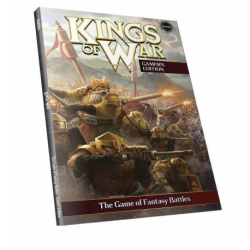 Gamer's Rulebook Kings of War 2nd édition (en anglais, couverture souple)
