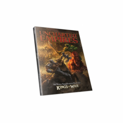 Uncharted Empires book (en anglais, extension Kings of War)