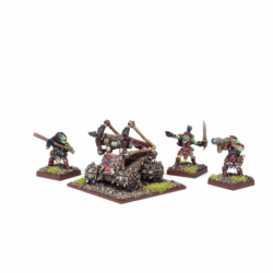 Lance-bâtons pointus (4 figurines)