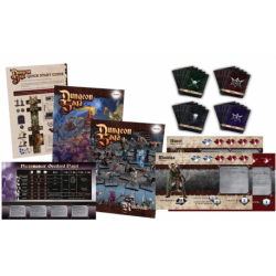 Dungeon Saga cards and booklets (en anglais)