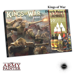 Boite de peintures Nains Kings of War