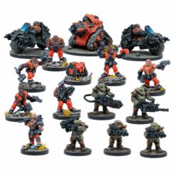 Forge fathers, extension de faction (12 figurines)
