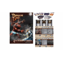 Return of Valandor cards and booklets (en anglais)