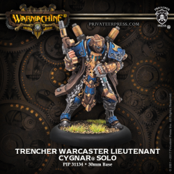 Trencher Warcaster Lieutenant