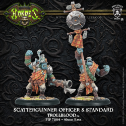Scattergunner Officer & Standard