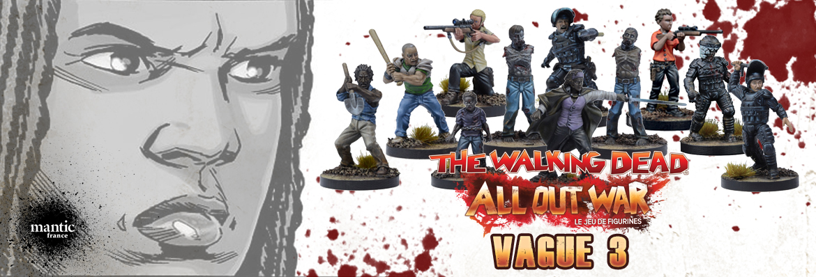 The Walking Dead : Vague 3 disponible en précommande !