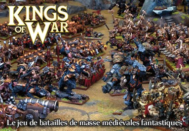 Kings of War, le jeu de figurines de batailles de masses médiévales fantastiques